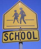 School sign 3